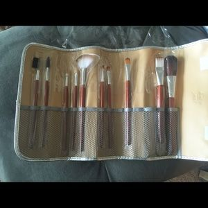 minxing Other - 10 make up brushes with case