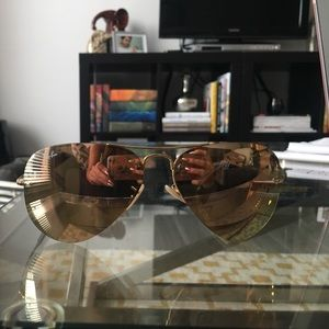 Rose Gold Ray Ban Aviators