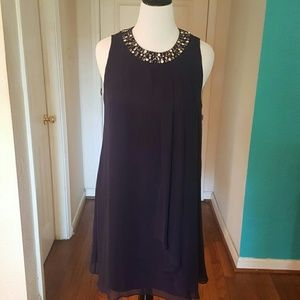 Vince Camuto Dresses & Skirts - Vince Camuto Navy Evening Dress