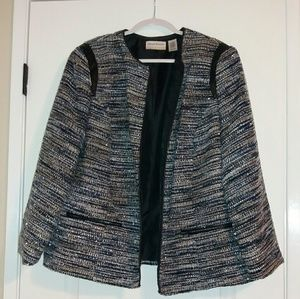 Alfred Dunner Jackets & Blazers - Blue and silver dress blazer from Macy's.