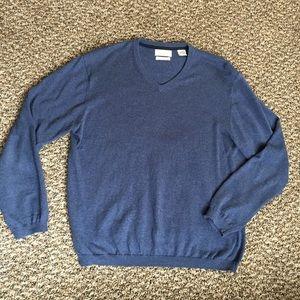 Weatherproof Other - Weatherproof Cotton Cashmere V Neck Sweater