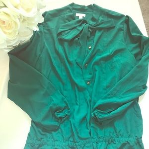 Bisou Bisou bow blouse