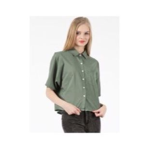 Band Of Outsiders Tops - Band of Outsiders cotton dressing grandpa shirt