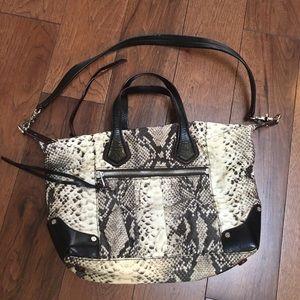 MZ Wallace Handbags - MZ WALLACE PYTHON NYLON BAG