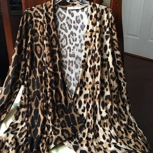 Allegra K Sweaters - New without tag Allegra K leopard cardigan