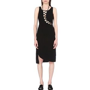 Opening Ceremony Dresses & Skirts - Opening Ceremony Lace Up Detail Fitted Dress