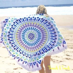 Threads & Trends Accessories - 🌸🆕Vagabon Gypsy Round Terry Towels