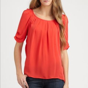 Joie Tops - Join Eleanor Silk boatneck top sz L