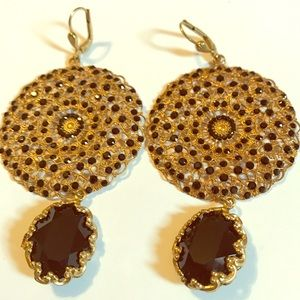 Catherine Popesco Jewelry - New Without Tags/ Jet Black Earrings