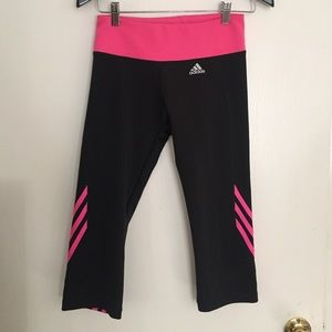 Adidas Medium workout Capris