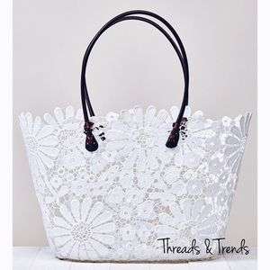Threads & Trends Handbags - FLASH SALE! 🌸Kora Daisy Lace Tote