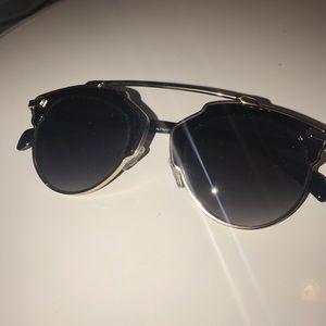 Faux Dior So Real Sunglasses