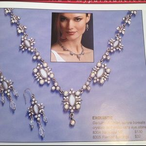 Park Lane Jewelry - Exquisite Necklace and earring set