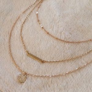 Dainty Gold Layered Necklace
