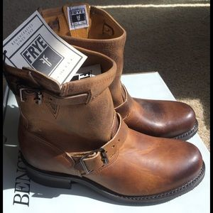 """Frye Shoes - FRYE boots! NwT! Engineer 8""""R"""
