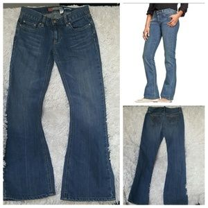 Old Navy Denim - 🆕 Ultra Low Waist Bootcut Jeans sz 1
