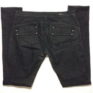 Rock & Republic Denim - Rock & Republic black skinny jeans