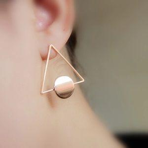 Jewelry - Triangle Studs