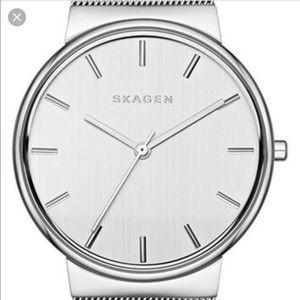 Skagen Accessories - Skagen Stainless Steel Mesh Band Watch