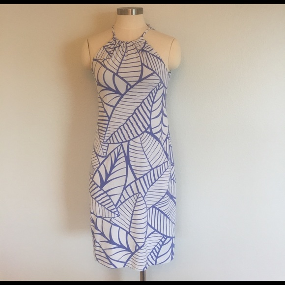 J Mclaughlin Halter Dress Nwot