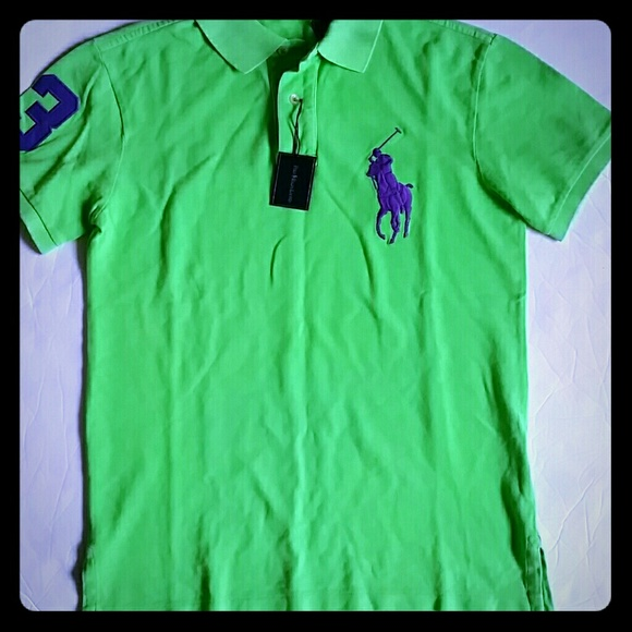 6968a5999b37 Polo Ralph Lauren men s Big Pony polo shirt CUSTOM