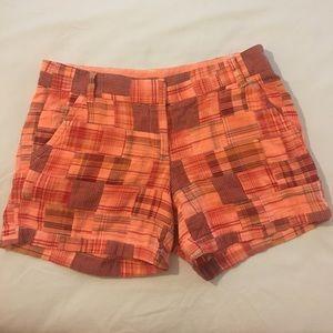 J. Crew Pants - NWT J. Crew Patchwork Shorts