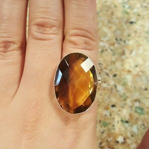 Jewelry - NWOT Sterling Ametrine Faceted Ring