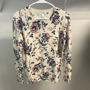 Old Navy Floral Sweater (lightweight)