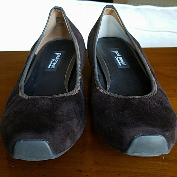 91 off paul green shoes euc paul green brown suede ballerina flats from p0 hm 39 s closet on. Black Bedroom Furniture Sets. Home Design Ideas