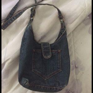 Other - Girls Denim Bohemian Hobo Bag