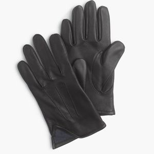 J. Crew Accessories - J. Crew CashmereLined Leather Smartphone Gloves