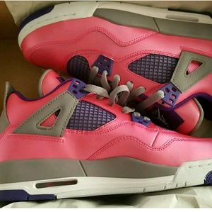 Jordan Other - Air Jordan 4 Pink Foil Sneakers