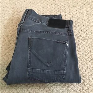 Hudson Jeans Other - SALE!! EUC Faded Black/Gray Hudson Straight Jeans