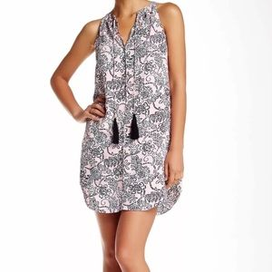 [Cooper & Ella] Tassel Dress in Tahitian Floral