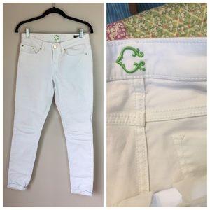 C Wonder White Skinny Jeans