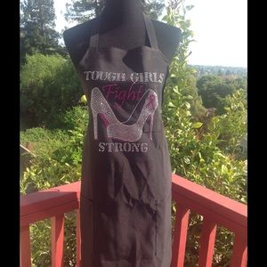 🆕Breast Cancer Apron~ Tough Girls Fight Stong