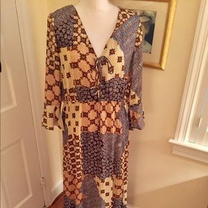 Alice & You Dresses & Skirts - Boho Patchwork Maxi Dress 🌈🌷🌈