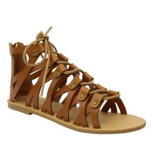 Tiara Shoes - NEW Studded Gladiator Sandals