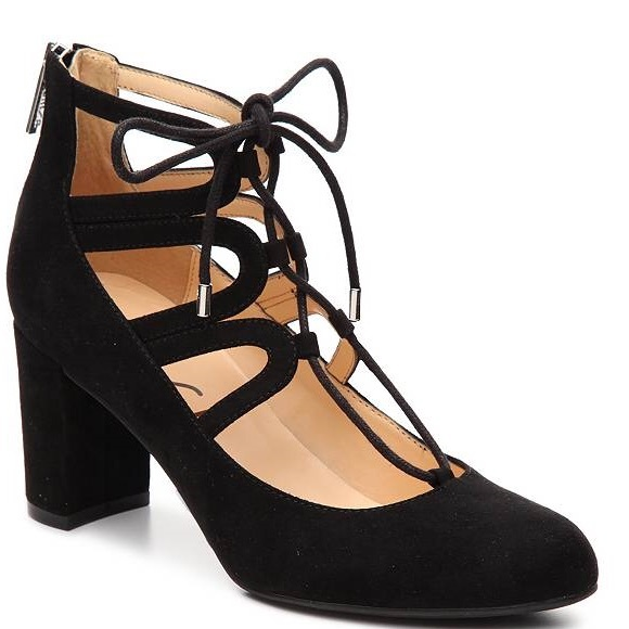 13f8e97b6ed Unisa Calete Lace Up Heels. M 58dd967e620ff75b14005b87. Other Shoes you may  like. Black open-toe ...
