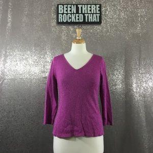 Eileen Fisher Sweaters - Eileen Fisher silk blend V neck sweater
