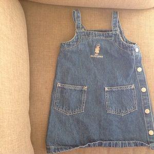 Ralph Lauren Other - 🐻Ralph Lauren teddy bear jean dress