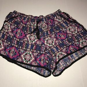 New Look Tribal Print Shorts