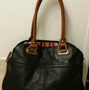 Tignanello Handbags - Tignanello leather satchel