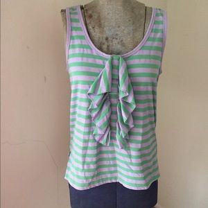 See by Chloe ruffled tank top size 2