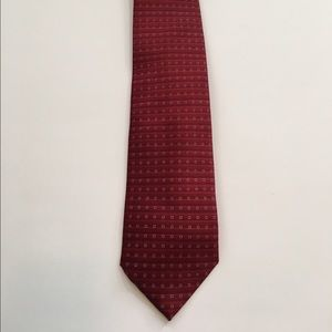 Arrow Other - SALE! EUC Classic Red w/ White Squares Arrow Tie