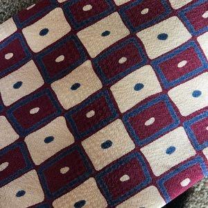 Vintage Accessories - 80's Tie Squares Funky
