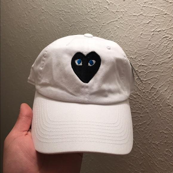 Heart dad hat strapback cap comme de garcon a4061975b6bb