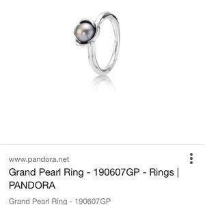 Pandora Jewelry - Pandora Pearl ring. Size 7