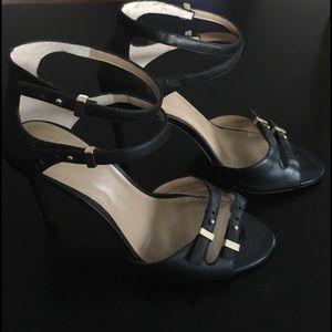 Ann Taylor Shoes - Ann Taylor Strappy Black Heels 💁🏻 NWOT!!