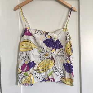 Reformation Tops - cropped vintage tank 🍌🍇